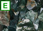 Green jasper rough