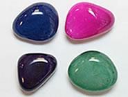 identifying dyed gemstones