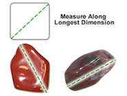 Measuring Tumbled Stones