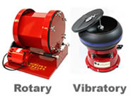 Rotary and Vibratory Rock Tumblers