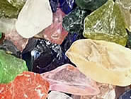 Sources of glass for polishing
