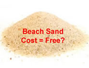 Sand Instead of Grit?