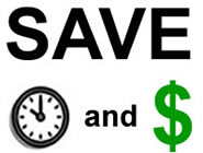 save time and money