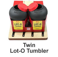 Two Barrel Vibratory Tumbler from Lot-o-Tumbler