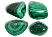Polished Stones on Transparent Translucent And Opaque Materials