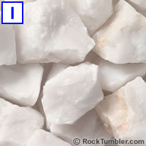 White Quartz Rough