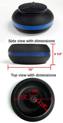 Thumler's 10lb vibratory bowl