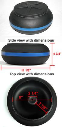 Thumler's 18lb vibratory bowl