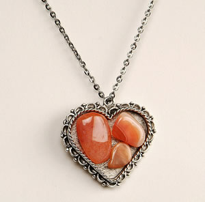 carnelian necklace - Michelle Turner - Etsy Store 286Taylor