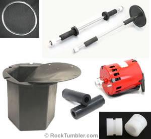 Model B tumbler parts