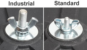 UV-18 industrial and standard center post comparison