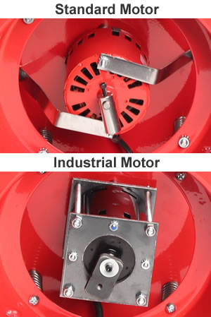 UV-18 industrial and standard motors