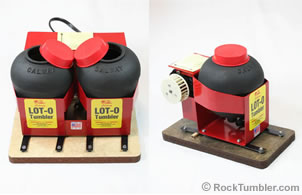 Lot-O-Tumbler vibratory tumblers
