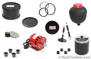 Rock tumbler parts