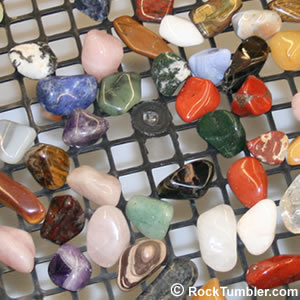 Sizing mixed stones