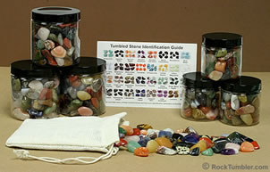 Tumbled stone gifts