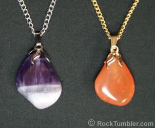 tumbled stone jewelry