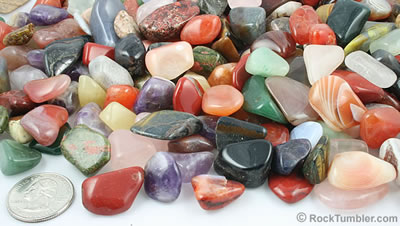 Mixed Tumbled Stones