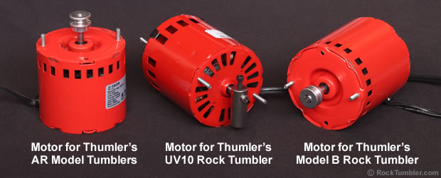 Rock Tumbler Motors for Thumler's and Lortone Tumblers