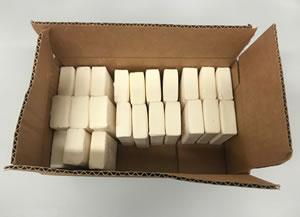 burnishing soap - we use Ivory bar soap