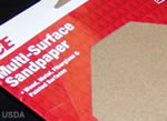 sandpaper for roughing smooth surfaces