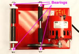 Thumler's tumbler bearings
