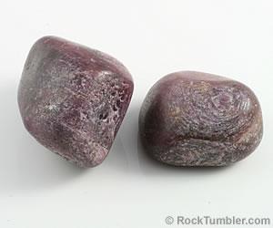 Tumbled ruby