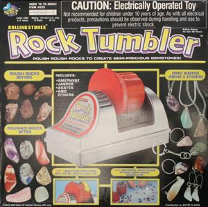 Rolling Stones rock tumbler box