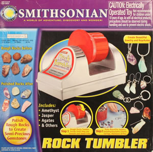 Smithsonian rock tumbler box