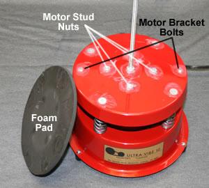 UV-10 motor stud nuts and bracket bolts