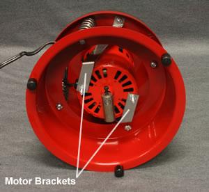 Repalcing a UV-10 motor