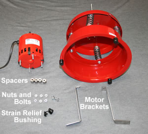 UV-10 motor mounting parts