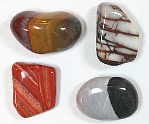 Premium tumbled stones