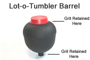 Lot-o tumbler barrel