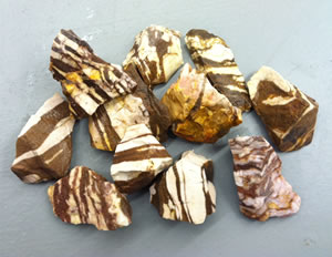 Rough zebra jasper
