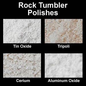 Which Rock Tumbler Polish Aluminum Tin Cerium Chrome Oxide
