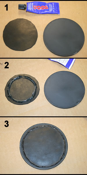 How to reinforce a tumbler barrel lid