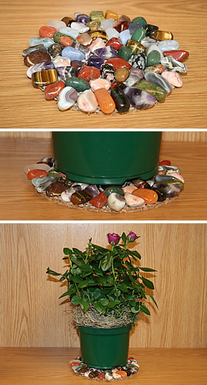 how to clean heritage the rock pot