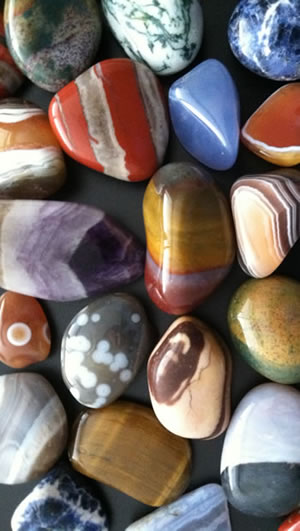 Great tumbled stones