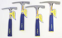 Chisel tip rock hammers