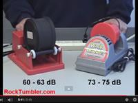 Plastic tumblers are loud